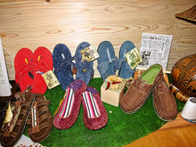 斬新なデザインのソールレベルズのサンダルや靴