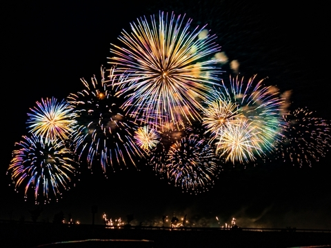 半田市の花火大会2019